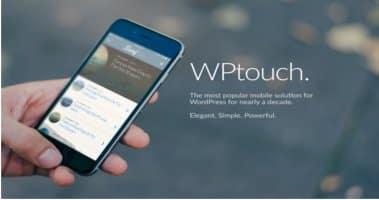 wptouch بهترین افزونه رایگان ایجاد نسخه موبایلی وب سایت