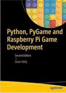 دانلود رایگان کتاب از آمازون: Python, Pygame, and Raspberry Pi Game Development-Apress