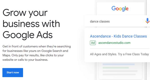 ثبت نام در گوگل ادوردز