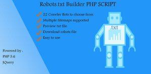 اسکریپت ساخت فایل Robots.txt