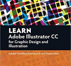 Learn Adobe Illustrator CC for Graphic Design and Illustration / دانلود رایگان کتاب از آمازون