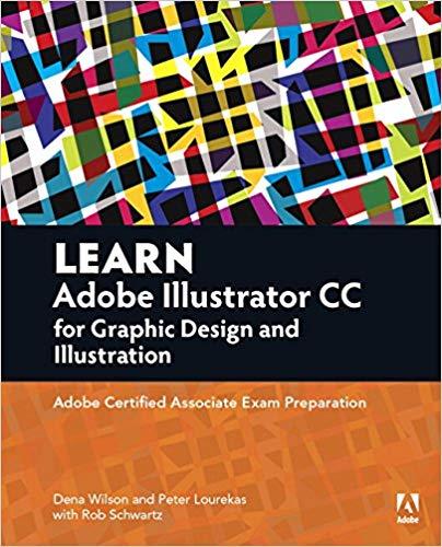 Learn Adobe Illustrator CC for Graphic Design and Illustration / دانلود رایگان کتاب از آمازون