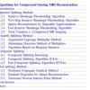 دانلود رایگان کتاب از آمازون: الگوریتم بازسازی تصویر تشدید مغناطیسی فشرده