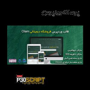 قالب فروش فایل وردپرس Olam