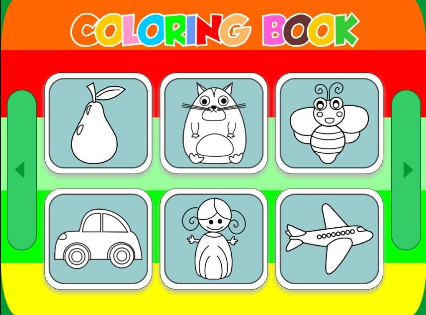 اسکریپت بازی آنلاین کتاب رنگ آمیزی