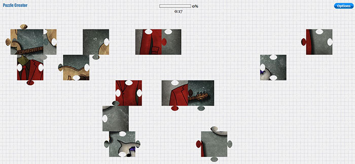 اسکریپت بازی آنلاین Jigsaw Puzzle Creator