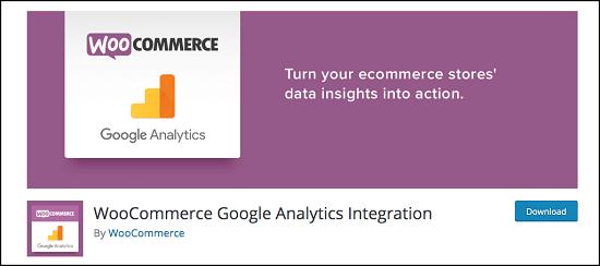 WooCommerce Google Analytics integration
