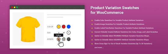 WooCommerce Colors