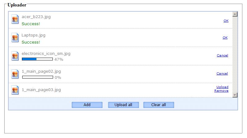 اسکریپت ApPHP AJAX File Uploader