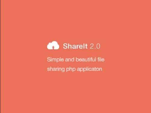 اسکریپت اشتراک گذاری فایل shareit