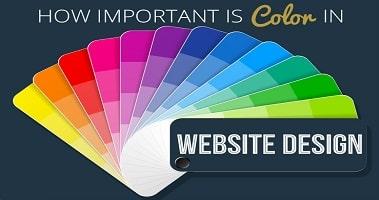 رنگ سایت