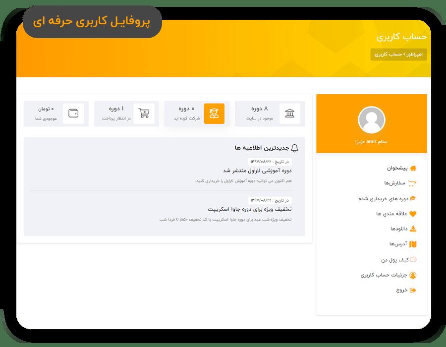 قالب آموزش آنلاین وردپرس EM