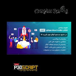 افزونه WP AMP | شتابدهنده سایت در موبایل با پروژه AMP